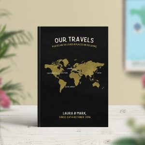 Travel Notebook Personalised